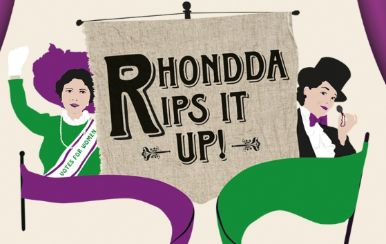 RHONDDA RIPS IT UP!