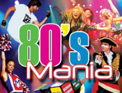 Friday 15 November at 7.30pmTickets - £26 Europe's Official Long-Standing Premier 1980's Multi-Tribute Concert Show!28 chart-topping artistes from the 80's are authentically recreated to look and sound as they did back in the day with a full live band, awesome dancers, mind-blowing lasers and light design combined with huge video projection complete the production together with over 150 costumes!Kim Wilde, Duran Duran, Adam Ant, Boy George, Wham, Erasure, Soft Cell, the Human League, Dead or Alive, Nena, Madonna, Cyndi Lauper, Gary Numan, and Tony Hadley are just some of the stars you will witness in this high energy, fast paced, party style show!Fancy dress is highly encouraged and ladies, dancing around your handbags is a must!!!So it's time to dig out your 80's fashions and Party! 80's Mania from Pete Tobit on Vimeo.