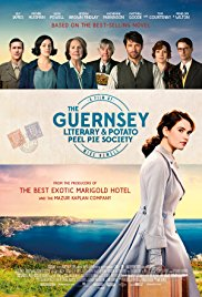 Monday 25 June at 7.45pm                                                                                     Tuesday 26 June at 7.45pm Wednesday 27 June at 1.30pm & 7.45pmRunning time: 124 minsDirected by Mike NewellStarring: Lily James, Michiel Huisman, Matthew GoodeA writer forms an unexpected bond with the residents of Guernsey Island in the aftermath of World War II, when she decides to write a book about their experiences during the war.