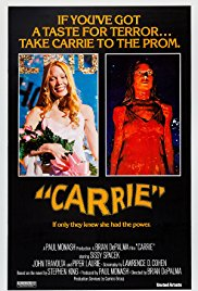 "Saturday 27 October at 7pmTickets - £6""If you've got a taste for terror… take Carrie to the Prom.'"" For Halloween this year we are screening Brian De Palma's seminal film based on Stephen King's eponymous novel Carrie. Carrie is an absolutely spellbinding horror film and Sissy Spacek is electrifying in the lead role.Followed by a Spooktacular Carrie Prom after the film. Prom ticket £4 or Joint Film and Prom £10."