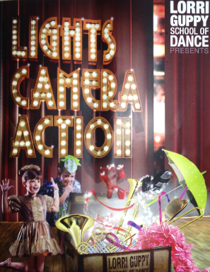 Lorri Guppy School of Dance: LIGHTS, CAMERA, ACTION 2018