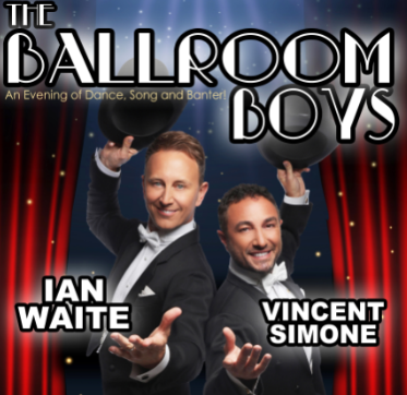 THE BALLROOM BOYS: IAN WAITE & VINCENT SIMONE