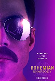Monday 3 December at 1.30pm & 7.45pmTuesday 4 December at 1.30pm & 7.45pmWednesday 5 December at 7.45pmThursday 6 December at 7.45pm 135 minutesDirector – Bryan SingerStarring – Rami Malek, Ben Hardy, Mike MyersBohemian Rhapsody is a foot-stomping celebration of Queen, their music and their extraordinary lead singer Freddie Mercury. Freddie defied stereotypes and shattered convention to become one of the most beloved entertainers on the planet. The film traces the meteoric rise of the band through their iconic songs and revolutionary sound. They reach unparalleled success, but in an unexpected turn Freddie, surrounded by darker influences, shuns Queen in pursuit of his solo career. Having suffered greatly without the collaboration of Queen, Freddie manages to reunite with his bandmates just intime for Live Aid. While bravely facing a recent AIDS diagnosis, Freddie leads the band in one of the greatest performances in the history of rock music. Queen cements a legacy that continues to inspire outsiders, dreamers and music lovers to this day.