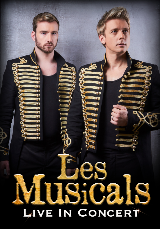 LES MUSICALS WITH JONATHAN ANSELL & JAI MCDOWALL