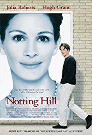 Friday 15 February at 1.30pm & 7pmTickets - £4Director: Roger MichellStars Hugh Grant, Julia Roberts, Rhys IfansJoin us as we celebrate the 20th anniversary of Richard Curtis's rom-com masterpiece Notting Hill. William Thacker (Hugh Grant) is a London bookstore owner whose humdrum existence is thrown into romantic turmoil when famous American actress Anna Scott (Julia Roberts) appears in his shop. A chance encounter over spilled orange juice leads to a kiss that blossoms into a full-blown affair. As the average bloke and glamorous movie star draw closer and closer together, they struggle to reconcile their radically different lifestyles in the name of love.
