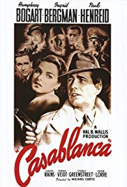 Friday 15 March at 1.30pm & 6pmSaturday 16 March at 1.30pm & 6pmAll tickets - £4Running time – 102 minutesThe world's favourite Hollywood love story. Humphrey Bogart is at his best as Rick, an American opportunist in 1940 French Morocco with a gruffly cynical exterior that belies his wary idealism and wounded heart. Ingrid Bergman is luminous as Ilsa, who arrives in Casablanca with resistance leader Victor Laszlo (Paul Henreid), but clearly has a history with Rick. Cynicism and self-interest contend with idealism and self-sacrifice as Rick and Ilsa's past weighs against the world's future.