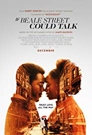 Wednesday 3 April at 7.45pmThursday 4 April at 1.30pm & 7.45pmRunning time: 119 minutesDirector – Barry JenkinsStarring – KiKi Layne, Stephan James, Regina KingIn early 1970s Harlem, daughter and wife-to-be Tish vividly recalls the passion, respect and trust that have connected her and her artist fiancé Alonzo Hunt, who goes bythe nickname Fonny. Friends since childhood, the devoted couple dream of a future together, but their plans are derailed when Fonny is arrested for a crime he did not commit.