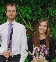Wednesday 1 May at 2pmTickets - £6The Bute Clarinet Quartet is an exciting and versatile ensemble based in South Wales. Formed in September 2013, the quartet is comprised of graduates from the Royal Welsh College of Music and Drama. Members Tom Howells, Daisy Evans, Darius Gray andKatie Hole met during their studies and together have performed recitals across the UK, showcasing a wide variety of clarinet quartet repertoire.  The group has participated in various competitions, with notable achievements including winning first prize in the ensembles category at the National Eisteddfod (2014)  Music education is an important part of Bute Clarinet Quartet's ethos, both as an ensemble and as individuals. As well as teaching around the Cardiff area, the ensemble regularly performs outreach concerts for school groups in South Wales. They hope to continue developing their educational work, making music more accessible to all. The quartetis thrilled to be joining the late Yehudi Menuhin's Live Music Now Scheme during his centenary year.