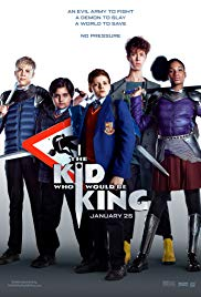 All tickets £3Friday 12 April at 5pmMonday 15 April at 4pm         Tuesday 16 April at 4pmWednesday 17 April at 4pm                                                                                   Thursday 18 April at 4pmRunning time – 120 minutesOld-school magic meets the modern world when young Alex stumbles upon the mythical sword Excalibur. He soon unites his friends and enemies, and they become knights who join forces with the legendary wizard Merlin. Together, they must save mankind from the wicked enchantress Morgana and her army of supernatural warriors.