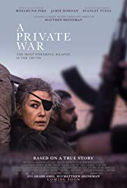 Monday 15 April at 7.45pm Tuesday 16 April at 7.45pmWednesday 17 April at 7.45pmRunning time: 110 minutesDirector – Matthew HeinemanStarring – Rosamund Pike, Greg Wise, Alexandra MoenCelebrated war correspondent Marie Colvin is a woman who is as comfortable downing martinis with high society's elite as she is brazenly staring down warlords and fleeing from gunfire. Driven by an enduring desire to bear witness and give voice to the voiceless, Colvin charges into danger, constantly testing the limits between bravery and bravado.