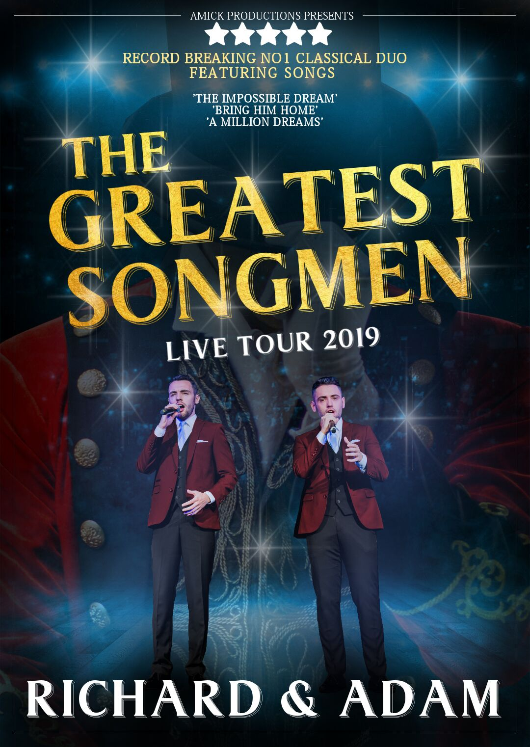 RICHARD & ADAM - THE GREATEST SHOWMEN
