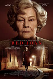 Monday 3 June at 1.30pm & 7.45pm Tuesday 4 June at 7.45pmWednesday 5 June at 7.45pmRunning time: 101 minutesDirector – Trevor NunnStarring – Judi Dench, Sophie Cookson, Stephen Campbell MooreRed Joan stars Dench as Joan Stanley, a retired scientist living in a London suburb who gets arrested by MI5 and accused of providing intelligence to Communist Russia. We flash back to 1938, and young Joan (Cookson) is a new physics student at Cambridge, where she is drawn into a circle of pro-USSR politicized youths and falls for a young communist, Leo Galich. When the World War II begins, Joan goes to work for a top-secret British intelligence project and soon faces an impossible dilemma, having to choose between betraying her country and loved ones or saving them.
