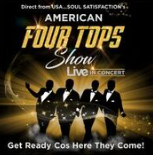 Saturday 14 March at 7.30pmTickets - £25Direct from the USA, Soul Satisfaction's AMERICAN FOUR TOPS Motown Show has been travelling internationally bringing all the sweet soul music and the Motown magic to their audiences. With powerful vocals, splendid harmonies and the high stepping dance routines, you will betaken on a journey through all the hits of the Four Tops, Reach Out, Baby I Need Your Loving, Walk Away Renee, Same Old Song, Loco in Acalpulco, Standing In the Shadow, Bernadette along with other classic hits from the golden era including songs from the Temptations, Smokey Robinson and the Miracles, Marvin Gaye, Ben E King and many more Motown and soul legends. Backed by the Soul Unlimited band this is an exciting live concert experience guaranteed to have you will be dancing all night long!  Soul Satisfaction guaranteed! So…Get Ready Cos Here They Come!