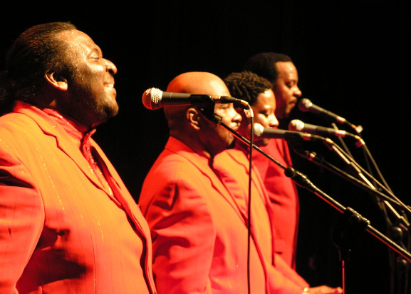 THE AMERICAN FOUR TOPS - Get Ready Cos Here They Come