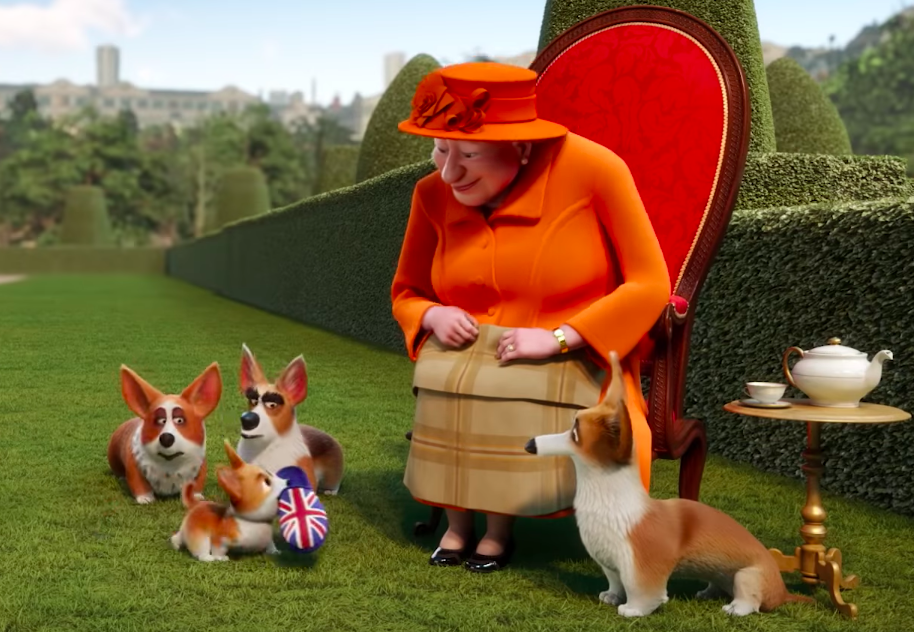 The Queen's Corgi (PG)