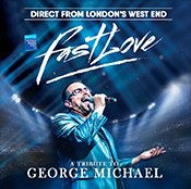 Friday 7 February at 7.30pmTickets - £24.50Direct from London's West End, this is the world's favourite George Michael tribute show.  Get ready foran unforgettable evening celebrating the global superstar that is George Michael.  This show will take you on a musical journey from the moving Jesus To A Child, to the celebration of Don't Let The Sun Go Down On Me, to everyone's favourites I'm Your Man and Wake Me Up. Join us as we present our respectful tribute to one ofthe greatest musicians of all time with our stunning stage show that's taking the globe by storm. The show is now touring in Australia, Belgium, Denmark,Germany, Holland, Ireland and Sweden, with more countries to come. Relive the passion, the flare and the unique sensitivity of George Michael with Fastlove!This is atribute show and is in no way affiliated with any original artists/estates/management companies or similar shows.