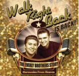 "This show was Friday 19 June 2020  - now rescheduled to Monday 3rd May 2021 at 7.30pmTickets - £26After a phenomenal sell out tour in 2018, Walk Right Back is...BACK! From the Producers of That'll be the Day, the show tells the story of the most successful duo of all time - The Everly Brothers.  Featuring hits such as Bye Bye Love, All I Have To Do Is Dreamand Cathy's Clown, this unique concert-based musical entwines the wonderful, sad yet glorious story of The Everly Brothers aroundthose trademark ""harmonies from heaven"". Follow the brothers rise to fame, through their decade-long feud to the glorious reunion that gave them back to the world, and back to each other."