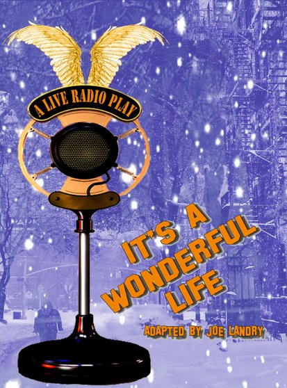 Wednesday 11 and Thursday 12 December at 7.30pmTickets - £14.25Inspired by the classic American film, It's A Wonderful Life: A Live Radio Play is performed as a 1940s live radio broadcast in front of a studio audience.  With the help of an ensemble of six actors and a live foley artist creating the sound effects, the story of idealistic George Bailey unfolds as he considers ending his life one fateful Christmas Eve. It will take help from a lovable angel, Clarence, for George to have a change of heart and understand the true spirit of the Christmas. Approximately 1 hour 45 mins with an interval