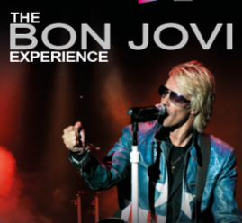 "Saturday 30 May ay 7.30pmTickets - £24The Bon Jovi Experience are the world's first and finest tribute to the great Bon Jovi andare the world's ONLY tribute to have been requested by and to have performed live on stage with Jon Bon Jovi himself. They are also the only tribute to have been featured on the official Bon Jovi website."" Have you seen this guy he looks so much like Jon Bon Jovi it's freaky man"" – Chad Kroeger (Nickelback)""The best tribute I've ever seen"" – JON BON JOVIRadio 2's Chris Evans also said that they were the best tribute band he had ever seen.The band have toured to ecstatic audiences the world over… not to be missed"