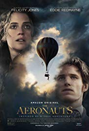 Tuesday 17 December at 7.45pm Wednesday 18 December at 1.30pm & 7.45pmRunning time: 101 minutesDirector – Tom HarperStarring – Felicity Jones, Eddie Redmayne, Himesh Patel In 1862 headstrong scientist James Glaisher and wealthy young widow Amelia Wren mount a balloon expedition to fly higher than anyone in history. As their perilous ascent reduces their chances of survival, the unlikely duo soon discover things about themselves -- and each other -- that help both of them find their place in the world.