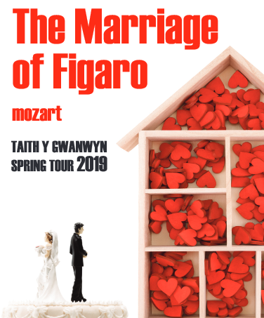Mid Wales Opera: MOZART'S THE MARRIAGE OF FIGARO