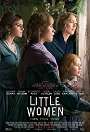 Monday 10 February at 11amLittle Women135 mins For Crying Out Loud: baby friendly cinema Tickets - £4.50 (no charge for baby) Take time out from your day and join usfor For Crying Out Loud, our baby-friendly cinema screenings. Join us on a Monday morning at 11am for ascreening of a newly released title (certificate U, PG or 12A) with a difference. These screenings are purely for parents and guardians to enjoy withtheir baby or toddler so don't worry about crying, fidgeting or disturbing other guests, you are all in the same boat! In order to make these screenings as baby friendly as possible there will be a soft level of lighting in the cinema, the volume will be lower and there will be soft matting in front of the screen for your little ones. Adults must have a baby or toddler with them in order to attend Baby Screen. No baby, no entry. Parents discretion advised with regards to the age of their little one and the certificate of the film.  Meg, Jo, Beth and Amy,four sisters each with a vastly different personality, grow up in close confines in an intensely loving household. Their differing experiences of young womanhood, in an era weighted by societal expectations, reflect upon their wilfully individual personalities. Themes of family devotion, enduring resolve, laudable triumphs and the ultimate tragedy make this beloved story of the March sisters a timely classic. Weaving together the emboldening streams of Louisa MayAlcott's nineteenth-century novel, director Greta Gerwig (Ladybird) gives this adaptation of Little Women a renewed sense of emphatic empowerment in an ode to the unwavering bond of sisterhood. With an all-star cast, including Saoirse Ronan, Timothée Chalamet, Emma Watson, Laura Dern and Meryl Streep.