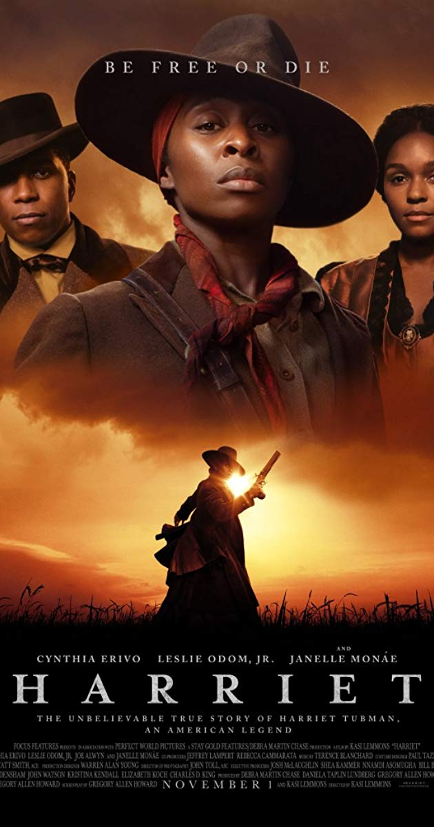 SCREENING CANCELLEDThursday 9 April at 1.30pm & 7.45pmRunning time – 125 minutesDirector – Kasi LemmonsStarring – Cynthia Erivo, Janelle MonáeBased on the thrilling and inspirational life of an iconic American freedom fighter, HARRIET tells the extraordinary tale of Harriet Tubman's escape from slavery and transformation into one of America's greatest heroes. Her courage, ingenuity, and tenacity freed hundreds of slaves and changed the course of history.Well, nobody's perfect – not even us and sometimes we may overlook a film release that we really shouldn't. Well, you will now have a chance to catch up! Starting with Harriet, starring Oscar nominated Cynthia Erivo we would love to know if you have any suggestions for future catch ups, let us know on the.riverfront@newportlive.co.uk