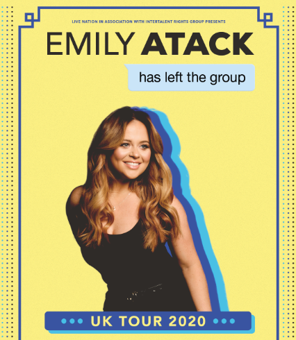 Live Nation presents EMILY ATACK Has Left The Group