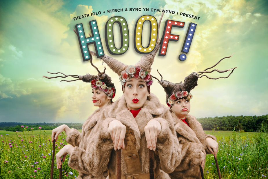 An outdoor family show, suggested age guide - for children of 4 and over.Tickets are not available online please call us on 01633 656679 or 656757 (Mon-Fri 10am-4pm) or email riverfront.boxoffice@newportlive.co.uk Sunday 16 May at 11am, 1pm & 3pmMonday 17 May and Tuesday 18 May at 4pm, 5.30pm & 7pmPlease arrive 15 minutes before the show time and register with our Front of House staffTickets £6, the show will be 30 minutes with no interval. A magical adventure into the limelight  Three little deer make an unexpected discovery when they stumble across an old, abandoned theatre in the woods. Investigating their new find, this cheeky trio quickly find themselves in spotlight and treading the boards for the very first time! Will the toe-tapping friends be able to bring the long-forgotten theatre back to life? Or will the lights be turned off forever?  Join Theatr Iolo this spring as we return to transform the outside of The Riverfront, Newport into a magical outdoor stage with our travelling theatre. As stages in Wales remain dark for a bit longer, Hoof! is set to bring a little light back to the heart of your local community.   You can buy up to 6 tickets per group, each group will be socially distanced from the next group. A group must contain 2 or more people (including children) and all groups should include at least 1 child.Everyone in your group has to be from the same household or extended household bubble.You are welcome to attend at the same time as family or friends but if they are in a different household you must book separately and  socially distance.This show will be outside The Riverfront's front doors and is an all standing event. If you have any specific access requirements please contact Andrew.irving@newportlive.co.uk for more information.When you book we will email a confirmation to you which will be your proof of entry, for more information about your visit click the link below: https://www.newportlive.co.uk/download_file/623/0/https://www.newportlive.co.uk/download_file/624/0/