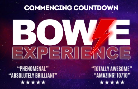 BOWIE EXPERIENCE *New date SAT 19 FEB 2022*